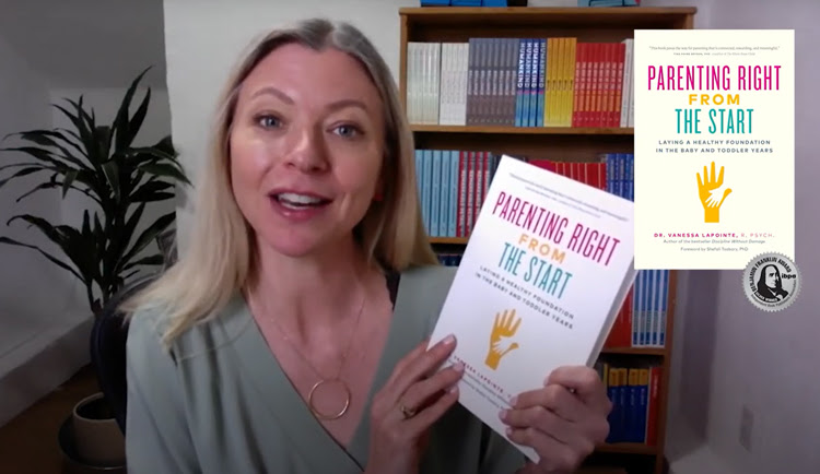 Parenting Right From the Start is an IBPA silver award winner