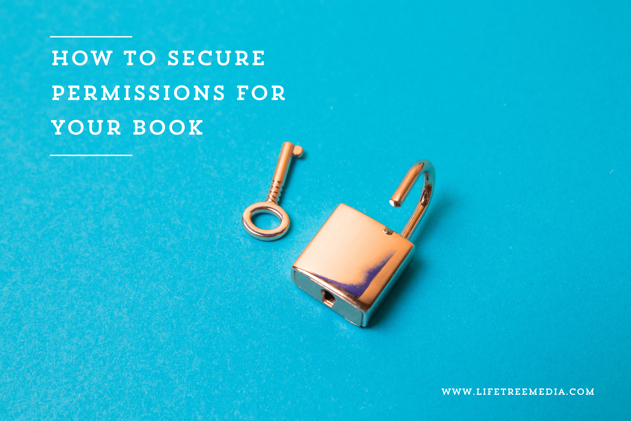How to secure permissions for your book